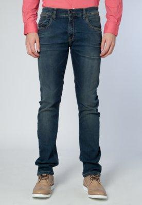 Calça Jeans Ellus Unic Reta Azul