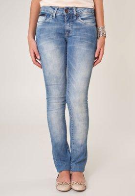 Calça Jeans Calvin Klein Jeans Reta Low Azul