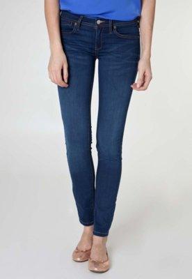 Calça Jeans MNG Barcelona Slim Fit Fktra Azul