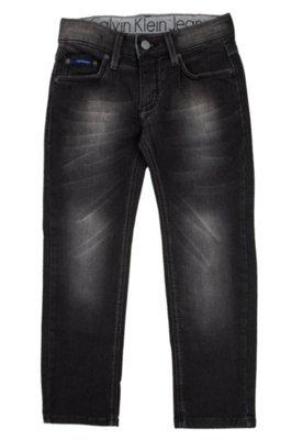 Calça Jeans Calvin Klein Kids Skinny Street Preta