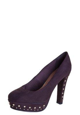 Sapato Scarpin Crysalis Ravenna Marrom