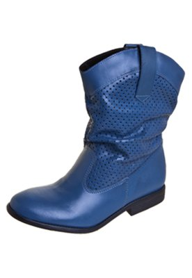 Bota FiveBlu Mel Azul
