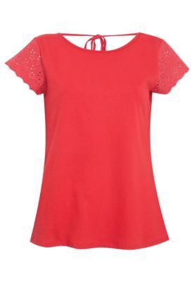 Blusa Pop Touch Sweet Vermelha
