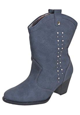 Bota Cowboy Picadilly Tachas Azul - Piccadilly