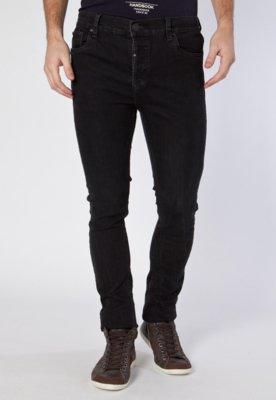 Calça Jeans Handbook Reta Motumba Preta