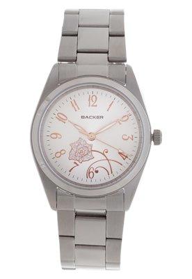 Relógio 1661153F Prata - Backer