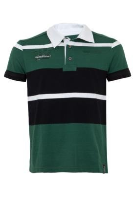 Camisa Polo Gangster Submit Verde