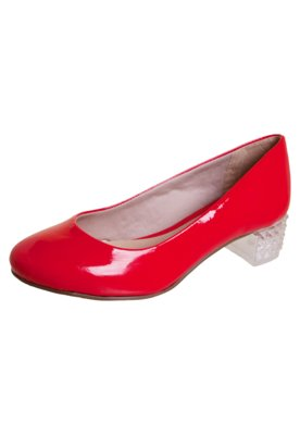 Sapato Scarpin FiveBlu Unic Vermelho