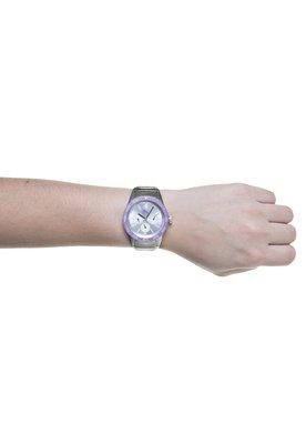 Relógio Fast Track Metal Silver Prata/Roxo - Puma