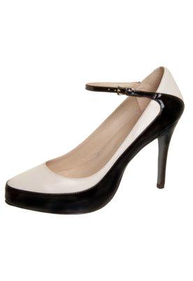 Sapato Scarpin Bicolor Branco - Cavage