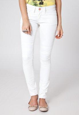 Calça Jeans Acostamento Skinny Kate Off-White