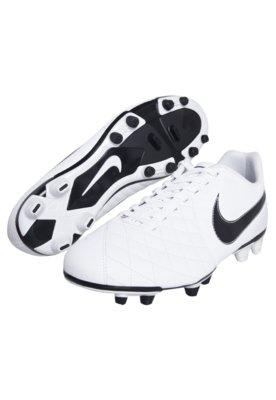 Chuteira Campo Nike Flare Branca