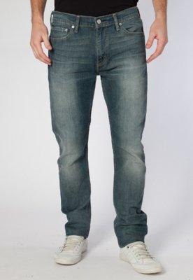 Calça Jeans Levi's 510 Skinny Fit Wash Azul - Levis