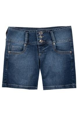 Bermuda Jeans Tina Azul - Colcci