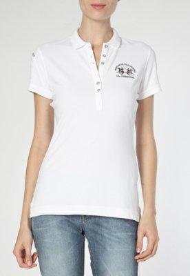 Camisa Polo La Martina Brand Branca