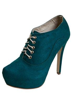 Ankle Boot FiveBlu Cadarço Verde