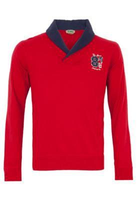 Camisa Polo TNG Stillus Vermelha/ Azul