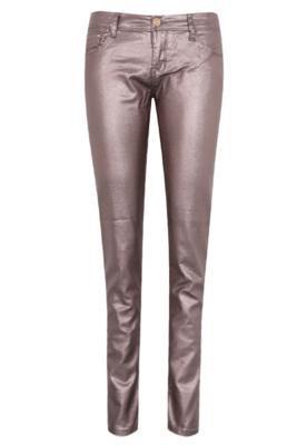 Calça Jeans Handbook Skinny Warren Bronze