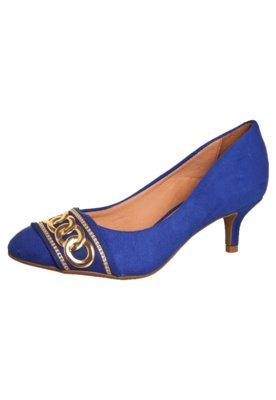 Sapato Scarpin Vizzano Corrente Azul