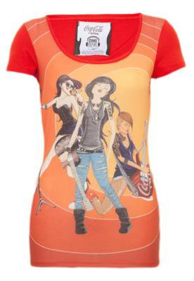 Blusa Coca-Cola Small Rock Vermelha - Coca Cola Clothing
