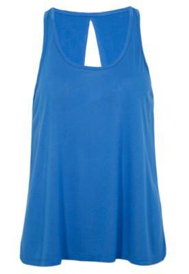 Blusa Shop 126 Recorte Azul