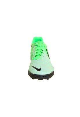 Chuteira Society Nike CTR360 Enganche III TF Verde