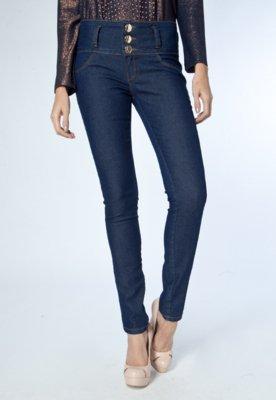 Calça Jeans Lança Perfume Skinny High Azul