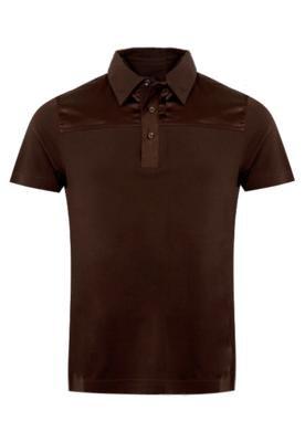 Camisa Polo Rich Piquet Marrom