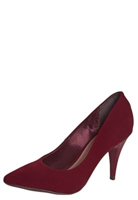 Sapato Scarpin FiveBlu Bico Fino Vermelho