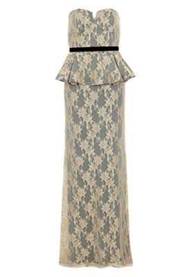 Vestido Confort Renda Dourado - Colcci