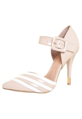 Sapato Scarpin Fiveblu Modern Bege