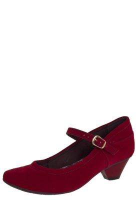 Sapato Scarpin Crysalis Turim Vermelho