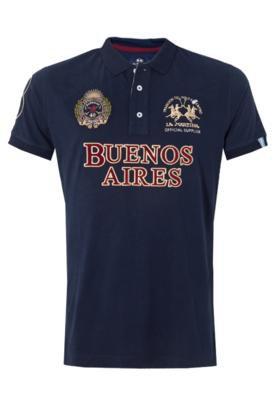 Camisa Polo La Martina City Azul