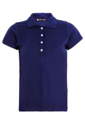 Camisa Polo Anna Flynn Color Pratic Azul