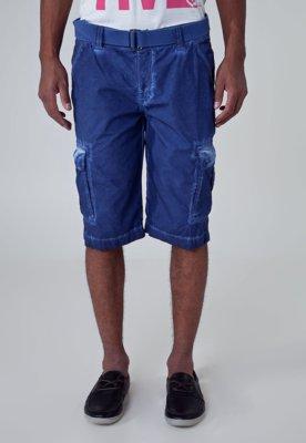 Bermuda Calvin Klein Jeans Color Cinto Azul