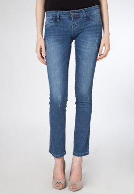 Calça Jeans Sawary Skinny Ly Colv Azul