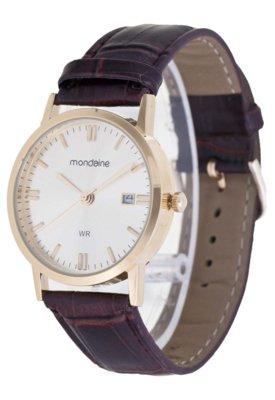 Relógio Mondaine 83019GPMBDH1 Marrom