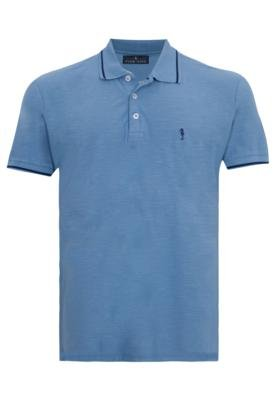 Camisa Polo Pier Nine Fael Azul