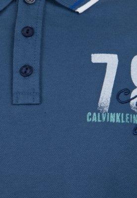 Camisa Polo Calvin Klein Kids Day Azul