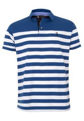 Camisa Polo Aleatory Modern Azul