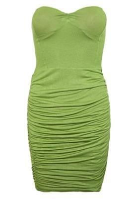 Vestido Justo Triton Ana Verde