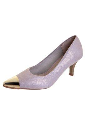 Sapato Scarpin Pink Connection Shine Rosa