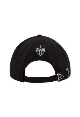 Boné New Era Atlético Mineiro Preto - New Era Futebol