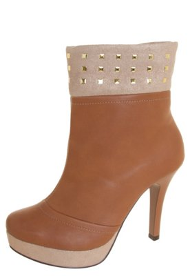Ankle Boot Pink Connection Hotfix Caramelo