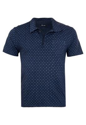 Camisa Polo Mandi Trevo Azul