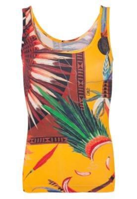 Blusa Small Índios Amarela - Coca Cola Clothing