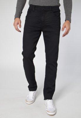 Calça Jeans Ellus Elastic Filigrana Preta