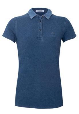 Camisa Polo Lacoste Hisim Azul