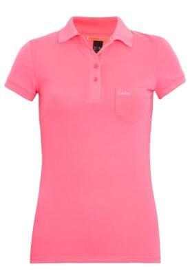 Camisa Polo Colcci Slim Chicle Rosa