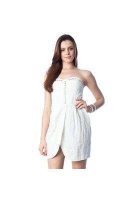 Vestido Bordado Branco - Iódice